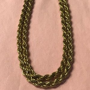"Jewelry - Gold Filled Heavy Rope Chain 22"" Long"